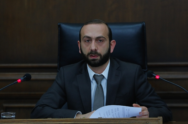 Speech by RA NA Speaker Ararat Mirzoyan at Euronest PA 9th Session