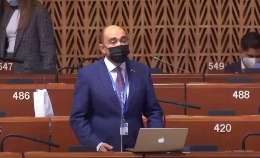 The speech of Edmon Marukyan, member of the RA NA delegation to PACE