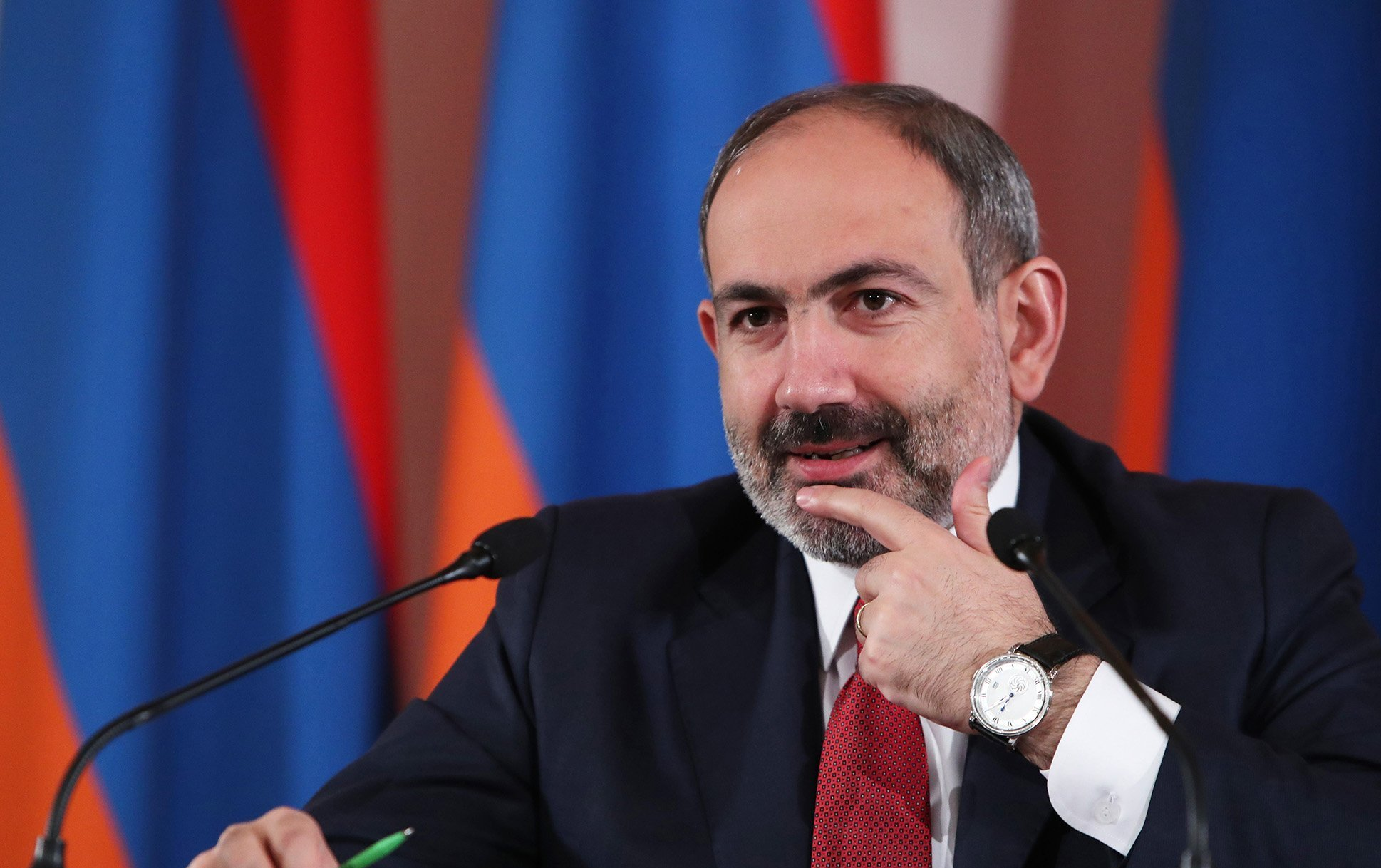 Aurora has become our Nobel Peace Prize. Nikol Pashinyan