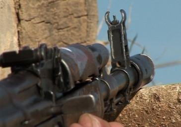 Tурецкий оператор случайно снял попадание армянского снайпер....
