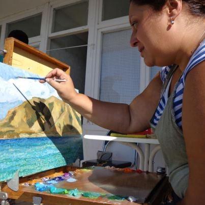 ՇՈՒՇԱՆ ՊԵՏՐՈՍՅԱՆԸ նաև նկարիչ է