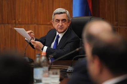 Վաղը ՀՀԿ ԳՄ նիստին Սերժ Սարգսյանը ներկայացնելու է Մաքսային միությանն անդամակցելու հետ կապված հարցերը