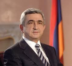 Президент Армении Серж Саргсян продолжат получать поздравления в связи с переизбранием на пост главы государства