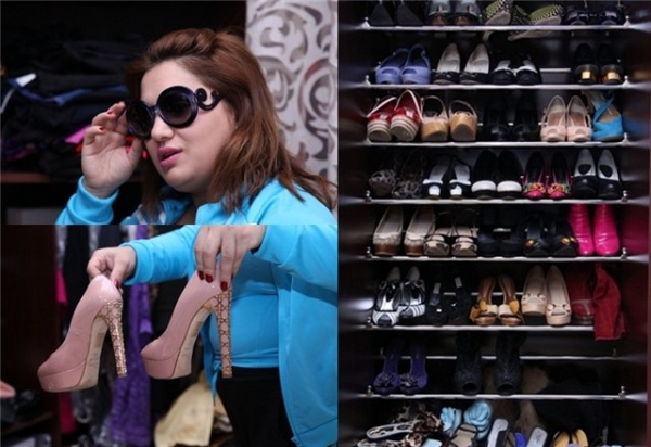 Սոնա Շահգելդյանը ցուցադրում է իր զգեստապահարանը