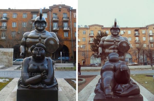 Բոլոր արձանները հանենք և հիանանք  տկլոր գլադիատորով ու ծխող չաղո տոտայով...