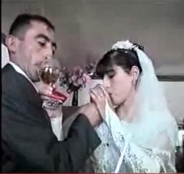 «Կացինն ու կացինուհին». ադրբեջանական հարսանիք