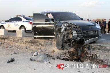 18-ամյա վարորդը «Porsche Cayenne»-ով բախվել է «09»-ին. քննիչը փորձում էր թաքցնել «Porsche»-ի վարորդին