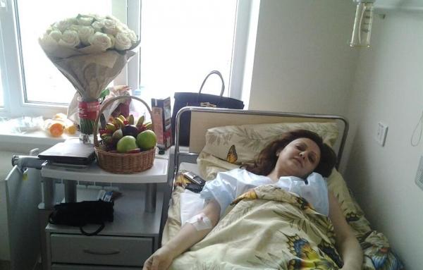 Երգչուհի Նանան վիրահատությունից հետո