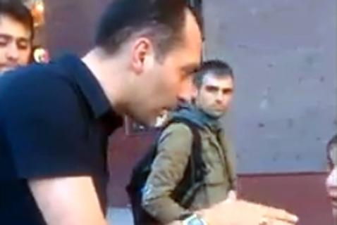 Վ. Ղուկասյանը (Դոգ) հրել եւ վիրավորել է «Հետքի» լրագրողին
