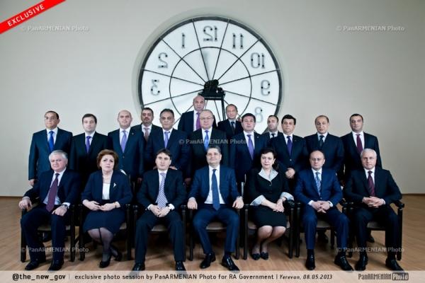 Նոր կառավարության առաջին լուսանկարը
