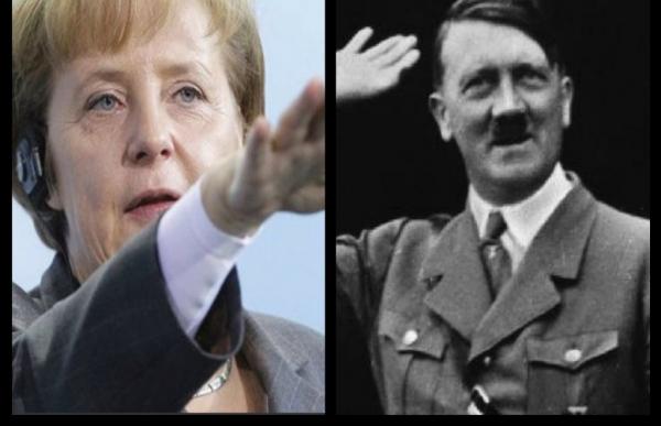 Специалисты прокомментировали слухи о том, что Ангела Меркель является дочерью Адольфа Гитлера