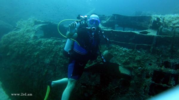 Ռոբերտ Քոչարյանը դայվինգով է զբաղվում Միջերկրականի ջրերում