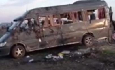 Սոչի-Երևան ճանապարհի  ավտովթարից տուժածները և զոհերի մարմինները տեղափոխվում են Հայաստան