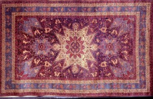 Armenian Orphan rug displayed in White House