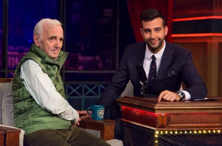 Aznavour: One should always be in love with something