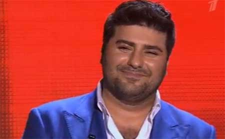 """Artur the Best's stunning performance in """"The Voice of Russia"""""""