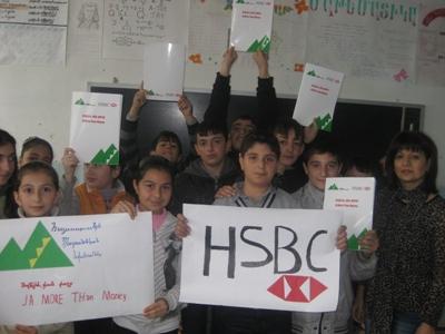 JA Armenia and HSBC drive youth financial literacy Education in Armenian Schools