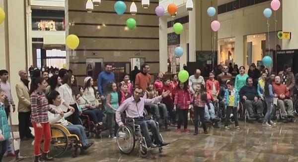 "Flashmob ""For You, Armenia"""
