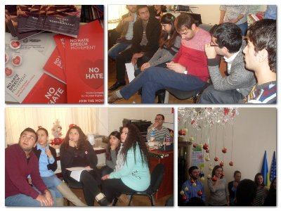 The Young Armenians' No Hate Action Group was established
