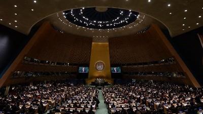 Ամերիկահայերը բողոքի ակցիա են անցկացնում ՄԱԿ-ի դիմաց