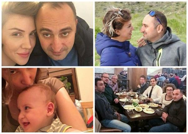 DJ Վակցինայի լուսանկարները` ամուսնու և կրտսեր որդու հետ