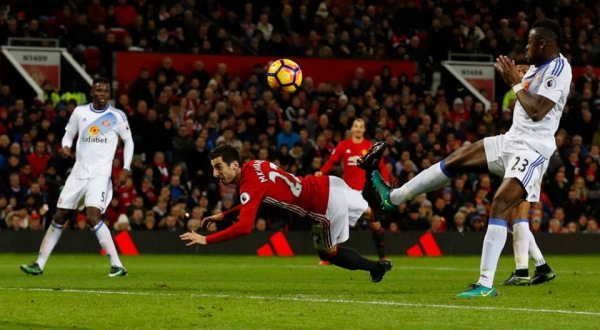 Stop all bets…Manchester United star Henrikh Mkhitaryan has won the Goal of the Season