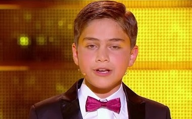 Armenian boy wins classical singers' contest in France