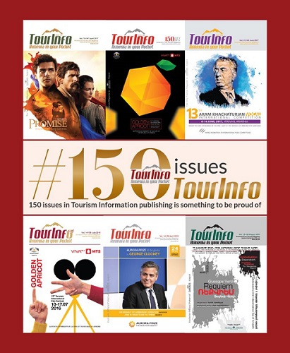 150th issue of TourInfo published