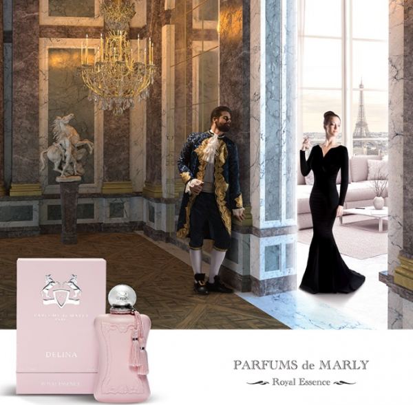 Delina is a floral bouquet, a tribute to luminous and sensual femininity. New perfume for women