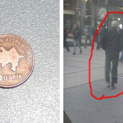 Երևանում անհայտ օտարերկրացին ադրբեջանական մետաղադրամ է տվել ....