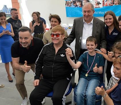 Elton John: Change Is In The Air In Armenia