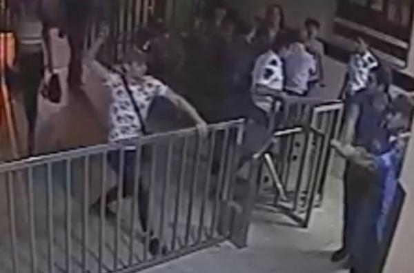 LGBT community representatives invade police station in Yerevan