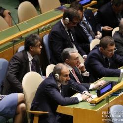 Փաշինյանը ներկա է գտնվել ՄԱԿ-ի ԳԱ 73-րդ նստաշրջանի ընդհանուր....