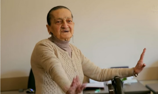 Armenia honors 100-year-old music teacher with Medal of Gratitude