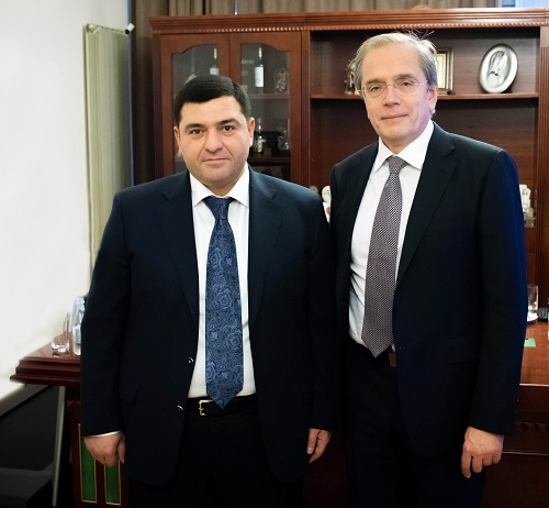 """SAS Group- with the head of Artak Sargsyan, is a fiduciary colleague for us""- Black Sea bank president Dmitry Pankin"